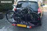 Fietsendrager voor 2 fietsen scherpe prijs_