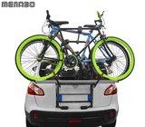 Fietsendrager achterklep montage voor 2 fietsen_