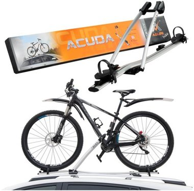 Fietsendrager aluminium tbv dakmontage Acuda voor 1 fiets