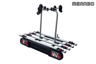 Fietsendrager 4 fietsen trekhaakmontage 60 kg
